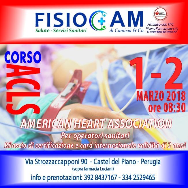 CORSO ACLS AMERICAN HEART ASSOCIATION